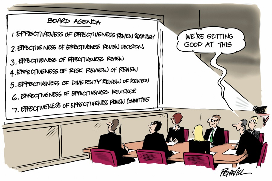 Board-Agenda Cartoon